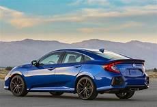 2020 honda civic si sedan updated with aggressive looks