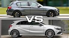 2018 Bmw 1 Series Vs 2016 Mercedes A Class