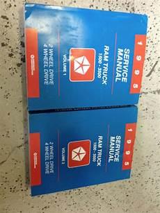 motor auto repair manual 1995 dodge ram 1500 electronic toll collection 1995 dodge ram truck diesel 1500 2500 3500 service shop repair manual new ebay