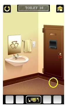 Escape The Bathroom Level 1 by 100 Toilets 2 Level 10 Walkthrough
