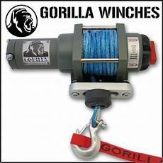 gorilla atv winch wiring schematics gorilla 3000lb xt series atv winch review atv new products reviews quadcrazy