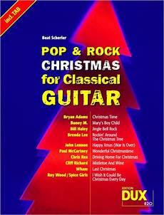 pop rock for classical guitar weihnachten