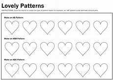 abc patterns worksheets 24 creative cents preschool week