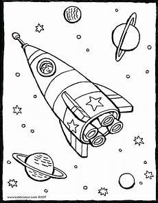 Malvorlagen Rakete Weltraum Gratis Rakete Im Weltraum Kiddimalseite Within Rakete