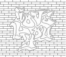 Graffiti Malvorlagen Graffiti Coloring Pages For And Adults Best