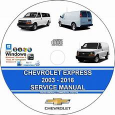 how to download repair manuals 2009 gmc savana 3500 electronic throttle control gmc savana 2003 2016 service repair manual on dvd
