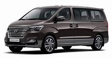 hyundai h1 neues modell 2017 hyundai grand starex facelift unveiled in south korea