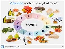 alimenti contengono la vitamina d quali sono vitamine funzioni e tabella degli alimenti guida completa