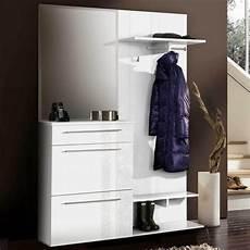 garderobe für schmalen flur kleine flur garderoben