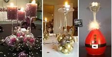 bicchieri per candele portacandele natalizi con bicchieri di vetro fai da te 20