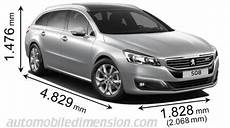 Peugeot 508 Dimensions Peugeot 508 Sw 2015 Dimensions Boot Space And Interior