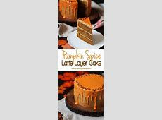 pumpkin spice latte cake_image