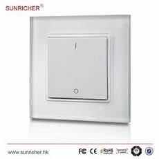 wireless wall mounted led dimmer switch and rf receiver