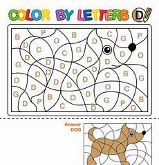 libro lettere d libro da colorare di abc per i bambini colore dalle