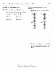 direct variation word problem worksheets 11167 direct variation worksheet for 9th 11th grade lesson planet