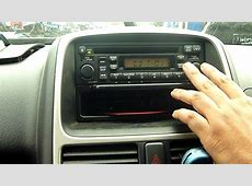 2006 HONDA CRV 2.2 I CTDI CD/RADIO PLAYER   YouTube