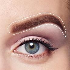 Perfektes Make Up - eyebrow makeup for eyebrows