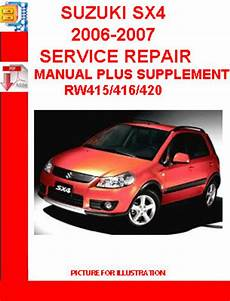 auto repair manual free download 2007 suzuki sx4 transmission control suzuki sx4 2006 2007 service repair manual plus supplement down