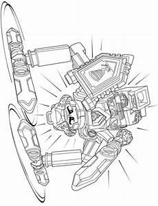 lego nexo knights ausmalbilder axl