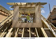 Pitched Roof Dormer Construction by Loft Conversion Stock Photos Loft Conversion Stock
