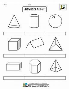 shapes of distributions worksheets 1079 3d geometric shapes sheet bw nolab gif 1000 215 1294 shapes for shapes worksheets 3d