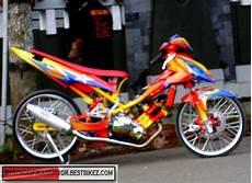 Modifikasi Motor Jupiter Mx Terbaru by Modifikasi Yamaha Jupiter Mx Drag Gambar Modifikasi