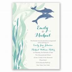 Dolphin Wedding Invitations