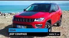 essai jeep compass jeep compass 2017 notre essai en vid 233 o