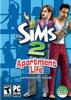 Sims 2 Apartment Pc by The Sims 2 Apartment Box Front