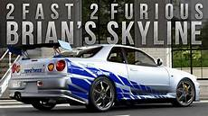 fast and furious forza 5 fast furious car build brian s r34 skyline