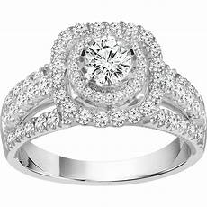 14k white gold 1 3 8 ctw diamond bridal ring engagement rings jewelry watches shop the