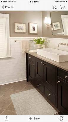 white vessel sink beige granite dark cabinets will need to bring in white somewhere else in