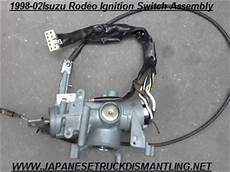 electric power steering 2000 isuzu trooper head up display 1998 1999 2000 2001 2002 isuzu rodeo ignition switch assembly