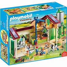Playmobil Malvorlagen Bauernhof Playmobil 174 70132 Gro 223 Er Bauernhof Mit Silo Playmobil