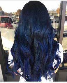 dark midnight blue hair hair diy five ideas for blue hair and how to do them at home bellatory