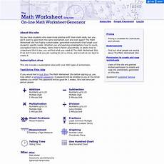 the math worksheet site com pearltrees