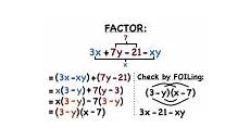 how do you factor a polynomial using the a c method virtual nerd