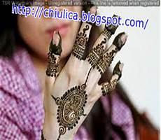 12 Contoh Gambar Henna Di Telapak Tangan Paling Baru