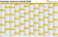 Feiertage 2018 Sachsen Anhalt Kalender