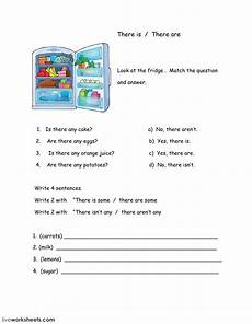 there is there are interactive worksheet
