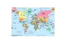 carte du monde en liège cartes du monde en ligne