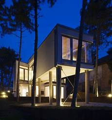 A House Pillars Hungary Allhitecture a house on pillars in hungary by allhitecture