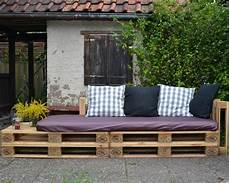 Pallet Sofa For Our Garden Eine Lounge Ecke F 252 R Parzelle