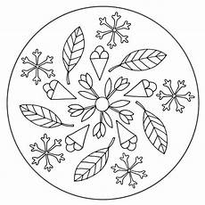 the four seasons mandala 1 for pre k kindergarten and