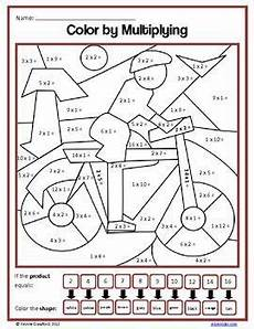 multiplication coloring worksheets for 3rd grade 4962 color by number third grade color by multiplication and division third grade math math