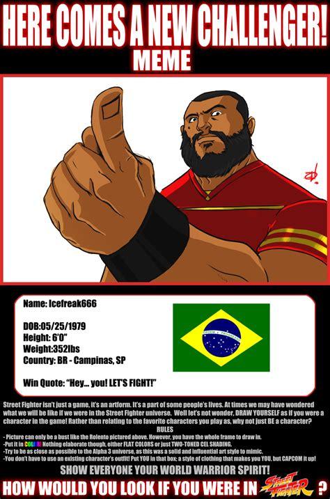 Street Fighter Meme