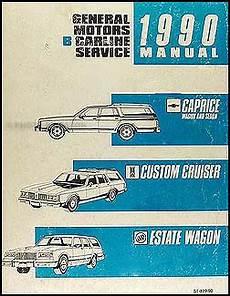 book repair manual 1990 buick estate auto manual 1990 gm b repair shop manual original caprice custom cruiser estate wagon