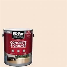 behr premium 1 gal white self priming 1 part epoxy interior exterior concrete and garage floor