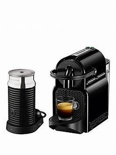 nespresso inissia and aeroccino 3 coffee machine by magimix black co uk