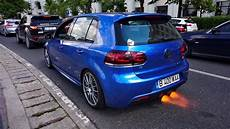 golf 6 r tuning teile golf 6 r shooting flames